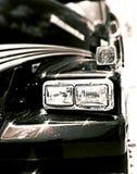 Cola cortada blanco y negro Foto de archivo libre de regalías