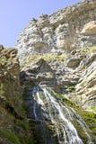 Cola de caballo. View of Cola de Caballo (horsetail), a very nice cascade in Ordesa National Park, Aragon, Spain stock photos