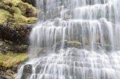 Cola de Caballo. Waterfall in Ordesa National Park, Pyrenees, Huesca, Aragon, Spain royalty free stock photo