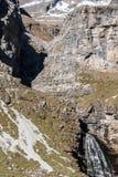 Cola de Caballo en el parque nacional de Ordesa, Huesca. España. Imagen de archivo libre de regalías