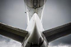 Cola del aeroplano Imagenes de archivo