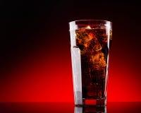 Cola del hielo Foto de archivo libre de regalías