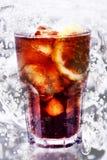 Cola del limón del hielo Fotos de archivo libres de regalías