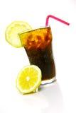 Cola del limone Fotografie Stock