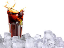 Cola drink Royalty Free Stock Photo