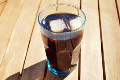 Cola drink. Cold and refreshing drink cola. The most popular cold drink in the world Royalty Free Stock Photo