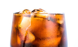 Cola Drink With Ice I Stock Photography
