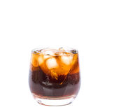 Cola Drink With Ice V Royalty Free Stock Images