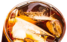 Cola Drink With Ice VI Royalty Free Stock Photo