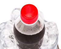 Cola Drinks With Ice Cubes III Royalty Free Stock Photo