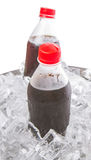 Cola Drinks With Ice Cubes VII Royalty Free Stock Photos