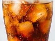 Cola e ghiaccio Fotografie Stock Libere da Diritti
