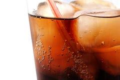 Cola en el hielo Fotos de archivo