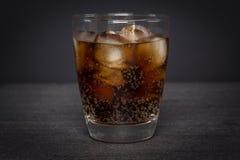 Cola gelado fotografia de stock
