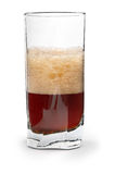 Cola in glass Royalty Free Stock Image