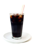 Cola in a glass Royalty Free Stock Photography