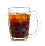 Cola in the glass Royalty Free Stock Photography