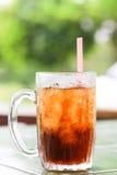 Cola helada Fotografía de archivo libre de regalías