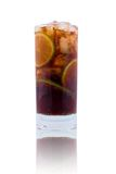 Cola in highball glass Stock Images