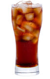 Cola with ice Stock Images