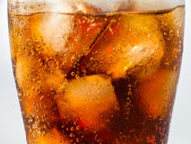 Cola and Ice Royalty Free Stock Photos