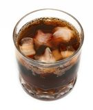 Cola on ice #2 Stock Images