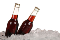 Cola on ice Royalty Free Stock Photo