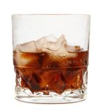 Cola on ice #3 Royalty Free Stock Photo