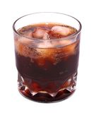 Cola on ice Royalty Free Stock Image