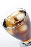 Cola and ice 3. Ice cold cola in a glass filled with ice Stock Images
