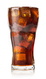 Cola with ice cubes Stock Photography