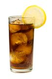 Cola Ice and Lemon Royalty Free Stock Photography