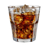 Cola isolated on white. With clipping path Royalty Free Stock Photo