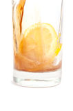 Cola with lemon Royalty Free Stock Image