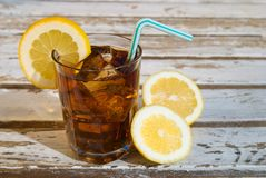 Cola & Lemon Stock Photos