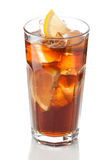 Cola with lemon Royalty Free Stock Images