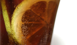 Cola - macro Fotografia de Stock Royalty Free