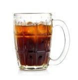 Cola nel vetro Fotografia Stock Libera da Diritti