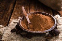 Cola Nut Powder Stock Photo