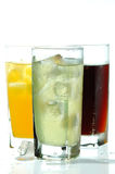 Cola,orane And Lime Drink Royalty Free Stock Image