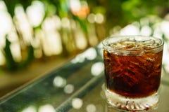 Cola på is Fotografering för Bildbyråer