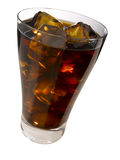 Cola on the rocks Stock Images