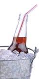 Cola Soda Botte in Bucket Stock Images