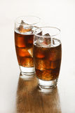 Cola - sodavattendrink royaltyfri fotografi