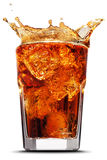 Cola splash Stock Photos