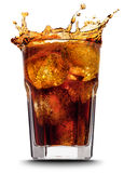 Cola splash Stock Images