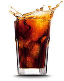 Cola splash Stock Images