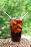 Cola for two Stock Photo
