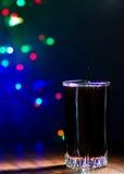 Cola in vetro Fotografia Stock Libera da Diritti
