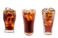 Cola in vetro isolato Immagine Stock Libera da Diritti